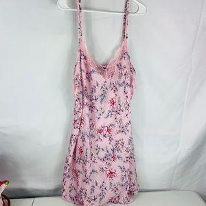 c0f3bb77209e INC International Concepts Intimates & Sleepwear - Inc international satin  floral lace trim chemise
